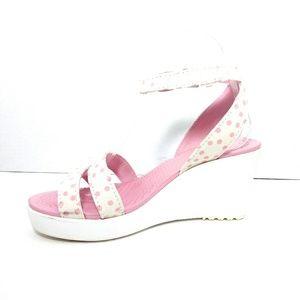 Crocs Wedge Sandals Size 7